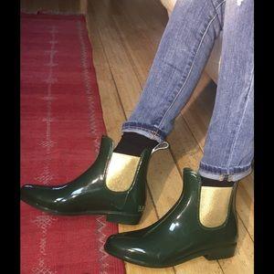 Lauren by Ralph Lauren Tally Green/Gold Boots